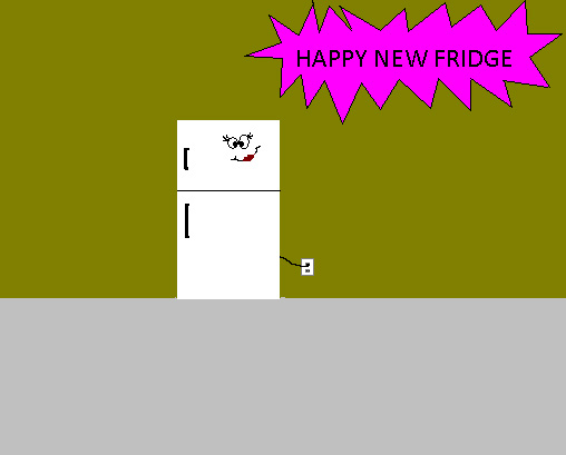 Happy New Fridge